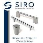 [ Siro Cabinet Hardware - Stainless Steel III Collection ]