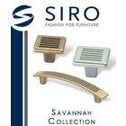 [ Siro Cabinet Hardware - Savannah Collection ]