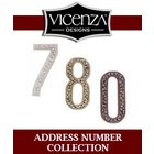 [ Vicenza Hardware Home Accents- Address Number Collection ]