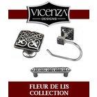 [ Vicenza  Hardware - Fleur De Lis Collection ]