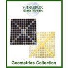 [ Vidrepur Mosaic Glass - Recycled Glass Tiles Geometrias Collection ]