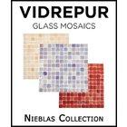 [ Vidrepur Mosaic Glass - Recycled Glass Tiles Nieblas Collection ]