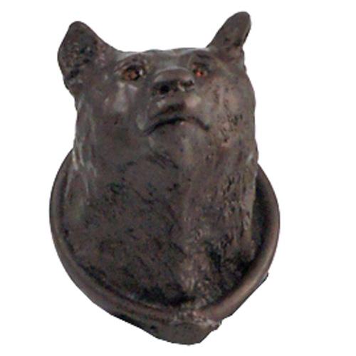 Beau ... Carpe Diem Cabinet Hardware   Large Bear Head Knob With Swarovski  Elements ...