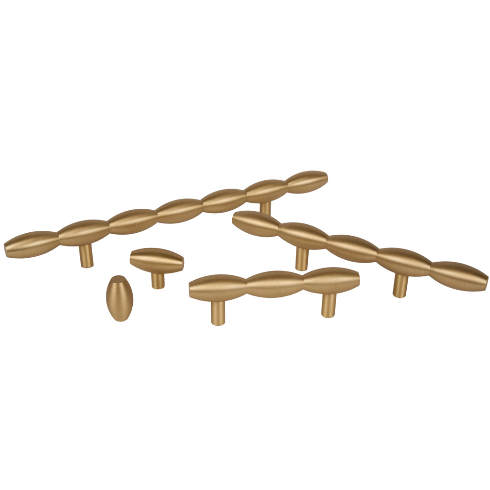 Satin Brass Cabinet Pulls Knobs4lesscom Offers Lewis Dolin Lew 45960 Knob Brushed Brass