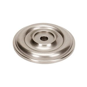 "Alno Creations Cabinet Hardware - Bella - Solid Brass 1 5/8"" Rosette for A1452 Knob in Satin Nickel"