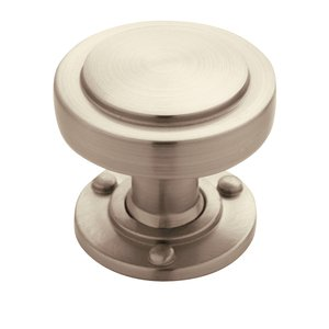 "Amerock Rochdale 1 1/4"" Knob in Satin Nickel"