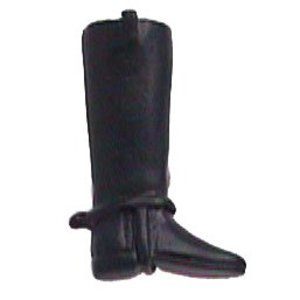 Anne at Home - Horses Collection Riding Boot Knob (Facing Right)