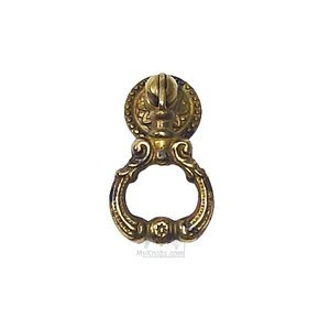 Bosetti Marella by Classic Hardware Drop Pull in Antique Brass Distressed