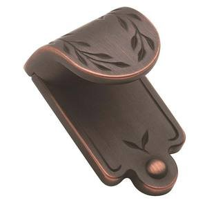 "Amerock - Inspirations - Finger Pull 1 7/8"" X 1 1/16"" in Oil Rubbed Bronze"