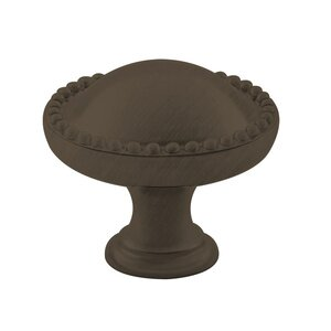 "Classic Brass Savannah 1 1/4"" (32mm) Knob in Oil Rubbed Bronze"