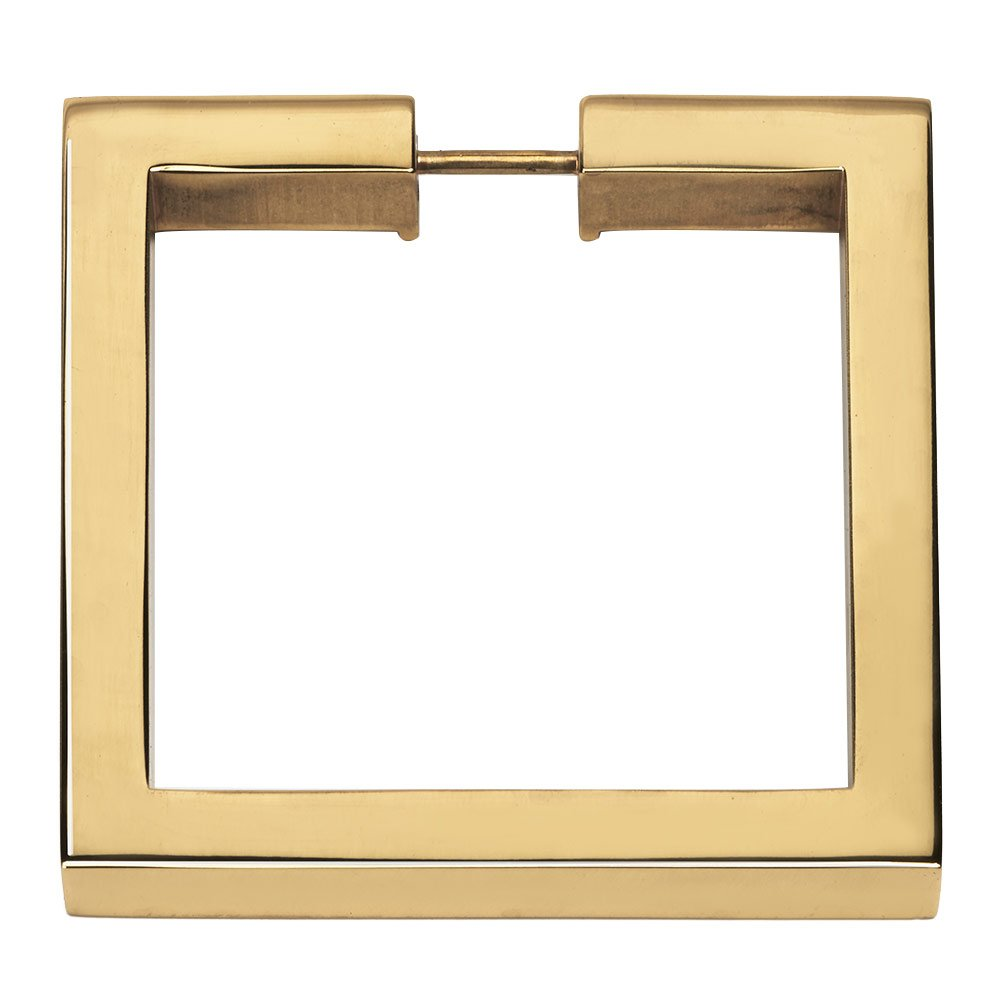 Knobs4less Com Offers Alno Hardware Aln 314966 Ring Pull Polished Brass Creations Cabinet Convertibles Pulls Collection