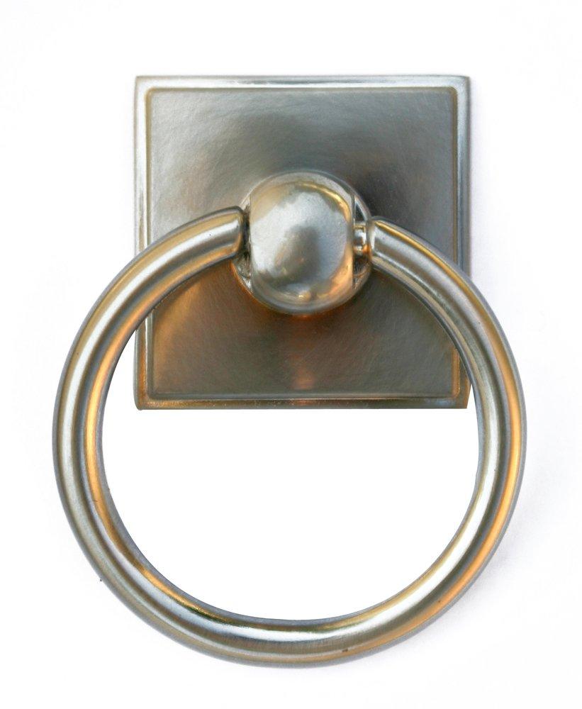 Knobs4Less.com Offers: Alno ALN-53512 ring pull Satin Nickel Alno ...