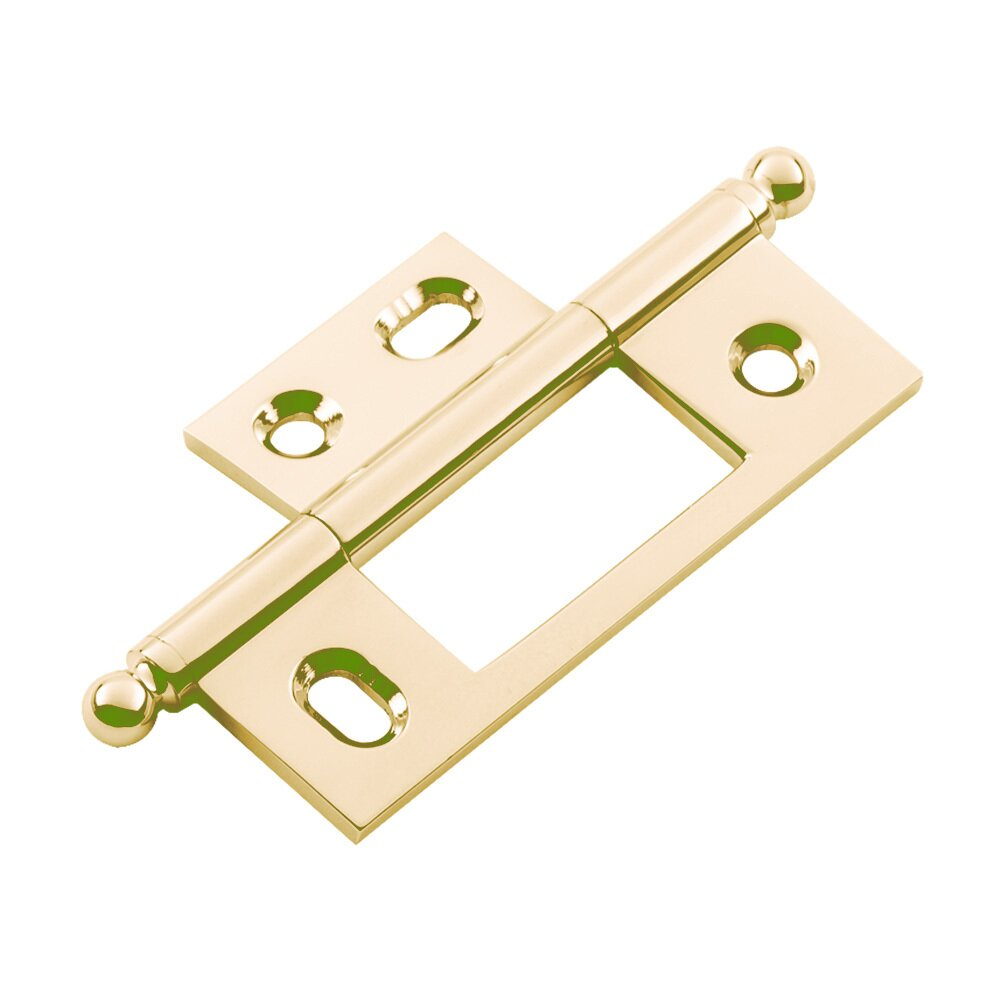 Classic Brass   Cabinet Hinges   Non Mortise Cabinet Hinge With Ball Finial  ...