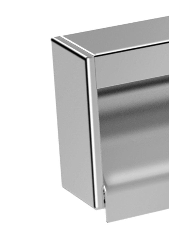 knobs4less offers: zen designs zen-217859 end cap stainless