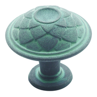 "Amerock - Galleria Feather - 1 1/4"" Knob in Veridian Slate"