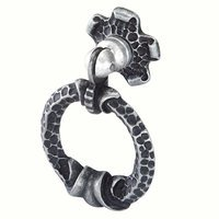 Siro Designs - Evangeline - Antique Iron Large Ring Pull 45mm