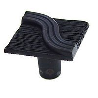 Abstract Designs - Textured and Tied - Square Textured Knob in Oil Rubbed Bronze