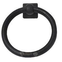Abstract Designs - Ring Pull - Arts and Crafts in Matte Black