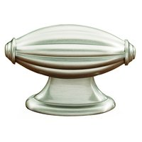 "Alno Inc. Creations - Tuscany - Solid Brass 2 3/16"" Knob in Satin Nickel"