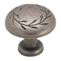 Amerock - Nature's Splendor™ - Weathered Nickel Knob 1 1/4""