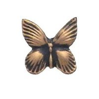 Anne at Home - Bees & Butterflies - Butterfly Knob in Pewter Matte