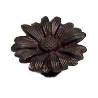 Anne at Home - Leaf & Flower - Daisy Knob (Small) in Pewter Matte
