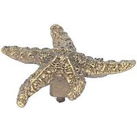 Anne at Home - Nautical - Dancing Starfish Knob in Pewter Matte
