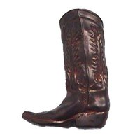 Anne at Home - Western - Boot Pull in Pewter Matte
