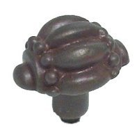 Anne at Home - New Twisted Metal - Renaissance Knob - Large in Pewter Matte