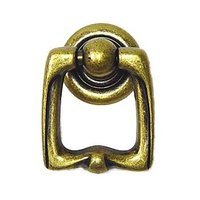 Bosetti Marella - Antique Brass Dark - Ring Pull in Antique Brass Dark