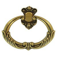 "Bosetti Marella - French Antique Gold - 3 1/4"" Ring Pull in French Antique Gold"