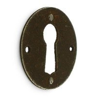 "Bosetti Marella - Antique Rust - 1 1/8"" Escutcheon in Antique Rust"