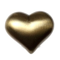 Big Sky Hardware - Kids & Teens - Kids Heart Knob in Antique Brass
