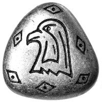 Big Sky Hardware - Southwestern - Southwest Eagle Knob in Pewter