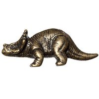 Big Sky Hardware - Animals - Styracosaurs Dinosaur Knob in Antique Brass