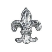 Novelty Hardware - Whimsical - Fleur Di Lis Knob in Antique Brass
