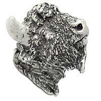 Carpe Diem Hardware - Oak Hollow Bison - Large Knob in Cobblestone