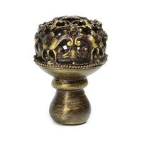Carpe Diem Hardware - Quick Ship Antique Brass Knobs and Pulls - Medium Knob Full Round in Antique Brass