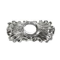Carpe Diem Hardware - Backplate - Medium Escutcheon Plate in Cobblestone