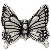 Carpe Diem Hardware - Water Garden and Nature - Butterfly Knob in Cobblestone