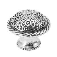 Carpe Diem Hardware - Quick Ship Chalice Knobs - Large Knob w/ Rope Border in Chalice