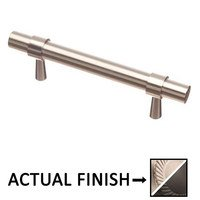 "Colonial Bronze - Pulls - 3"" Centers Pull in Nickel Stainless and Nickel Stainless"