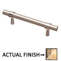 "Colonial Bronze - Pulls - 3"" Centers Pull in Antique Brass and Oil Rubbed Bronze"