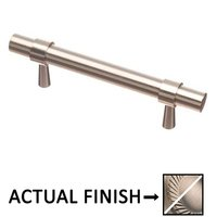 "Colonial Bronze - Pulls - 3"" Centers Pull in Matte Satin Nickel and Satin Nickel"