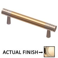 "Colonial Bronze - Pulls - 3"" Centers Pull in Polished Brass and Polished Nickel"