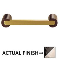 "Colonial Bronze - Pulls - 3 1/2"" Centers Pull in Satin Black and Satin Bronze"