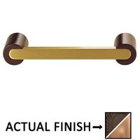 "Colonial Bronze - Pulls - 3 1/2"" Centers Pull in Matte Oil Rubbed Bronze and Polished Chrome"