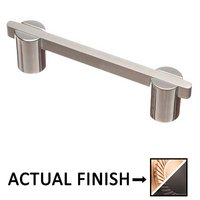 "Colonial Bronze - Pulls - 3 1/2"" Centers Pull in Satin Bronze and Satin Bronze"