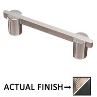 "Colonial Bronze - Pulls - 3 1/2"" Centers Pull in Matte Satin Nickel and Polished Nickel"