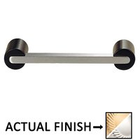 "Colonial Bronze - Pulls - 3"" Centers Pull in Satin Brass and Satin Bronze"
